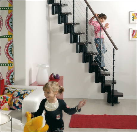kya spacesaver spiral stairs